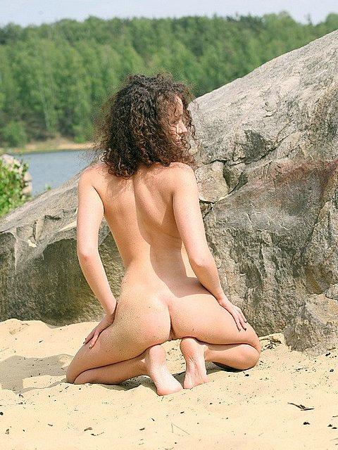 hot naked model